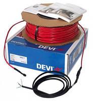DEVIflex 10T - двухжильный  кабель с экраном под деревянный пол