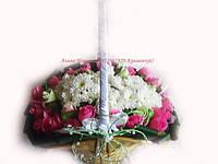 """Букет конфет""""Корзина с цветами"""""""