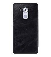 Кожаный чехол (книжка) Nillkin Qin Series для Huawei Mate 8 Черный