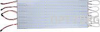 Motoko Комплект линеек светодиодных 14W smd 2835 для замены тубов MTK-2835W (5500-6000K)