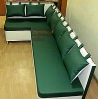 """Кухонный уголок """"Комфорт"""" зеленого цвета, фото 1"""