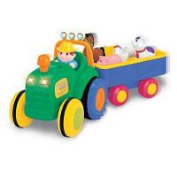 Развивающая игрушка Kiddieland Трактор фермера (49726)