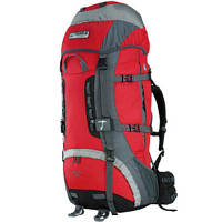 Рюкзак туристический Terra Incognita Vertex 80 red / gray