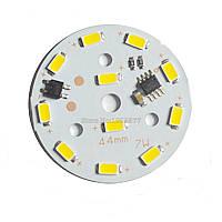 LED модуль 7W 220V Теплый белый