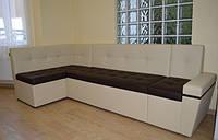 Диван для комнаты отдыха, офисный уголок, мягкая мебель для офиса эксклюзивно под заказ в Украине