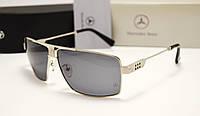 Мужские солнцезащитные очки Mercedes Benz 1016 серебро