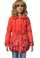 Куртка весна-осень на девочку модная