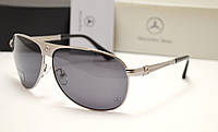 Мужские солнцезащитные очки Mercedes Benz 31202 серебро