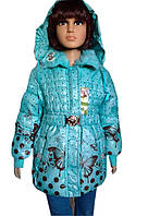 Демисезонная стильная курточка на девочку