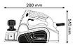 Электрорубанок Bosch GHO 6500, фото 4