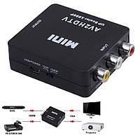 Конвертер 3RCA Composite video в HDMI (AV2HDTV)