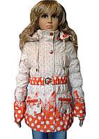Курточка весна-осень для девочки оригинальная