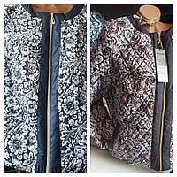 Куртка женская цветы