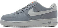Мужские кроссовки Nike Air Force 1 Low Grey, найк, аир форс