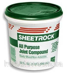 Шпаклевка SHEETROCK, 25кг
