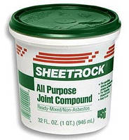 Шпаклевка SHEETROCK, 25кг, фото 1
