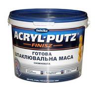 АКРИЛ-Путс Фініш шпаклівка СНЄЖКА, відро 27 кг