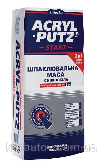 Шпатлевка акриловая ACRYL-PUTZ, Акрил-Путц (старт-финиш) сухая. Мешок 20 кг.