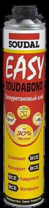 Клей Soudabond EASY GUN полиуретановый аэрозоль 750мл, фото 2