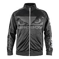 Мужская спортивная кофта эксклюзивный дизайн Track Bad Boy серый/черный