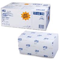 Листовые полотенца сложение ZZ ультрамягкие Premium Tork