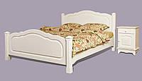 Кровать из массива дерева 046