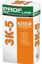Клей для плитки эластичный Профлайн ЗК-5