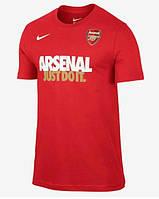 Брендовая футболка Nike, найк, красная, мужская, летняя, трикотаж, КП81