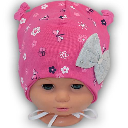Трикотажная шапка для малыша