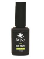 Гель для ногтей финишный без липкого слоя UV/LED Finish QF-3 Enjoy