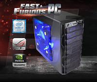 Графическая станция FF Fanqua i7-6700K 4.0GHz/ 16GB /4GB QUADRO M2000/ 120 SSD/ 1TB/ 750W