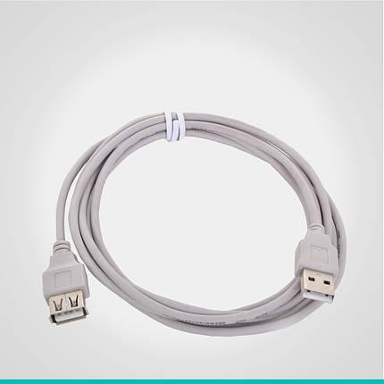 USB 2.0 удлинитель 0.8 м., фото 2