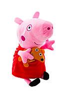 Свинка Пеппа и её семья, Peppa Pig ( 35 см) 2 вида Жорж и Папа Свин