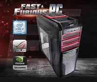 Системный блок FF Kendomen RD i7-6800K 3.4GHz/ 32GB /4GB QUADRO M2000/ 120 SSD/ 1TB/ 750W