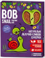 Натуральные конфеты яблочно-сливовые Bob Snail