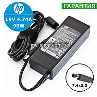 Блок питания HP 19V 4.74A 90W 7.4x5.0 зарядное устройство для ноутбука