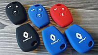 Чехол на ключ 3 кнопки Рено Кенго,Трафик,Виваро(Дачия, Ниссан,Опель) 3 кнопки