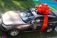 Подарочный бант для машины, украшение машины большим бантом, купить бант на машину