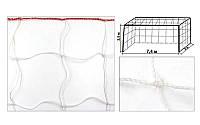 Сітка на ворота футбольні аматорська вузлова C-3346