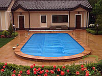 Летняя энергосберегающее накрытие для бассейна, ширина 3 - 6м