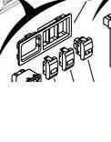 Блок управления зеркалами и корректором фар Geely MK-2