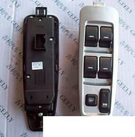Кнопки стеклоподъемника двери передней левой (серебристый) Geely MK