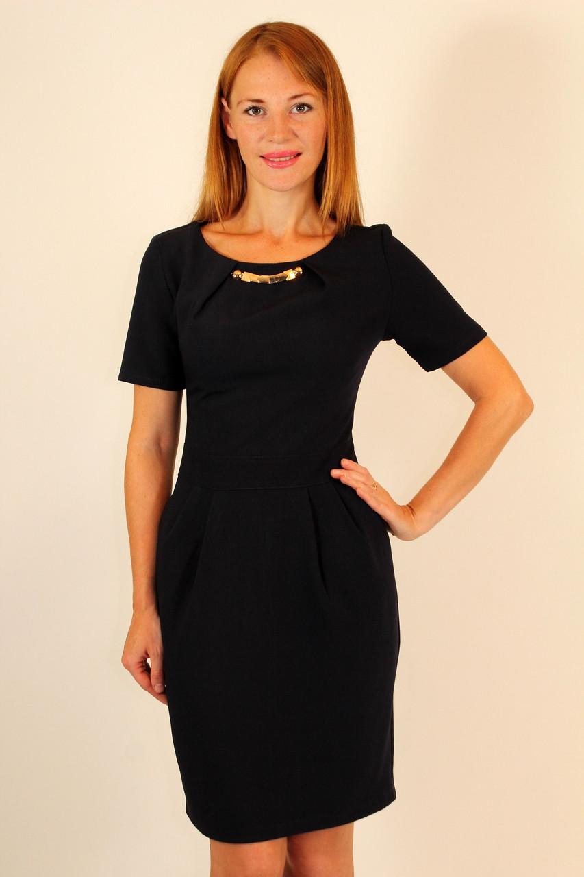 Классическое платье футляр 42-48 р