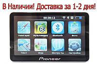 Навигатор Pioneer E820, 4gb, BT, видеовход для камеры, съемный аккумулятор!