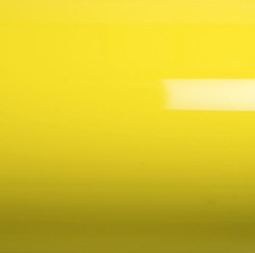 Литая глянцевая пленка на авто желтая GrafiWrap® 100мкм 1,52метра