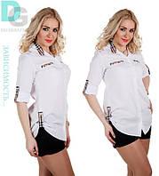 Рубашка барбари больших размеров 651 гл $