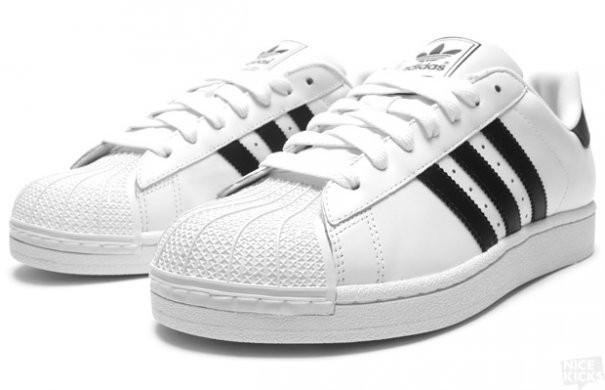 Кроссовки в стиле Adidas Superstar White/Black