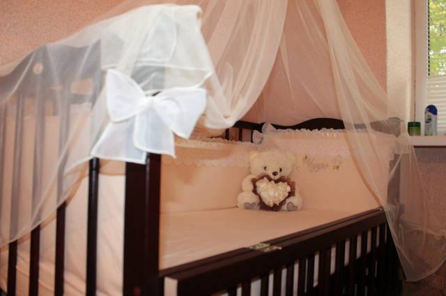Именные постельные комплекты в кроватку -1