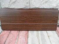 Металлосайдинг горизонтальный/Сайдинг доска беcшовная printech Марокканский Орех