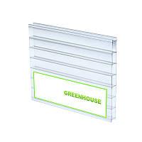 """Сотовый прозрачный поликарбонат 8 мм """"Greenhouse"""""""